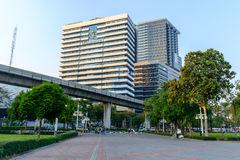 H.M.Queen Sirikit Building in Chulalongkorn hospital Royalty Free Stock Photos