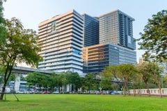 H.M.Queen Sirikit Building in Chulalongkorn hospital Stock Photos