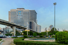 H.M.Queen Sirikit Building in Chulalongkorn hospital Royalty Free Stock Photo