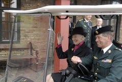 H M a RAINHA MARGRETHE II Imagem de Stock Royalty Free