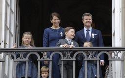 H M A RAINHA MARGTRHE II COMEMORA O ANIVERSÁRIO 75 Fotografia de Stock Royalty Free