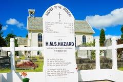 H.M.S. Hazard Memorial, Russell Stock Images