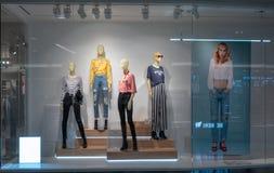 H&M-Shop bei Mega- Bangna, Bangkok, Thailand, am 10. April 2018 Stockbilder