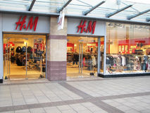 H&M store Stock Images