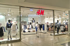 H&M Store Royalty Free Stock Photography