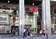 H&M store Royalty Free Stock Images