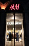H&M store Royalty Free Stock Image