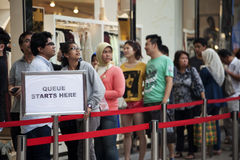 H&M store opening in Kuala Lumpur Malaysia Stock Photography