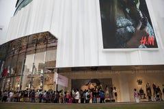 H&M store opening in Kuala Lumpur Malaysia Royalty Free Stock Image