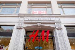 H&M Storefront Union Square San Francisco Royalty Free Stock Image