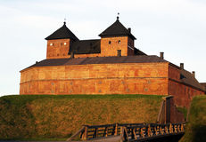 Häme Castle in Hämeenlinna, Finland Royalty Free Stock Image