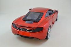 1h18 Minichamps de Mclaren Mp4-12C modelcar Photos stock
