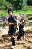 H'Mong People of Sapa Vietnam Stock Photography