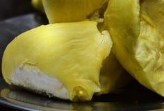 H? muitas carnes do durian a comer fotografia de stock royalty free