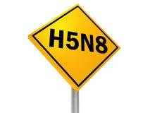 H5N8 免版税库存照片