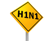 H1N1 免版税图库摄影
