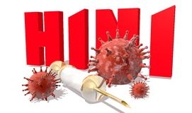 H1N1 Royalty Free Stock Photos