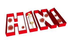 H1N1 Stock Photography