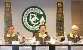 H7N9 zagrożenie w Tajwan Zdjęcia Royalty Free