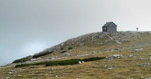 H. Nemecek mountain hut in Rax Alps Stock Photography