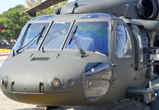 H-60 noir Hawk Helicopter Photos stock