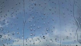 h2o书面的雨珠视窗 影视素材