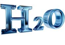 H2O Στοκ Εικόνα