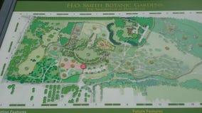 H O Smith Botanic Gardens Arboretum en el Estado de Penn fotos de archivo