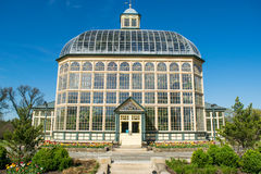H P Rawlings-Konservatorium und botanische Gärten in der Druide-Hügel-Gleichheit lizenzfreies stockfoto