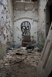 Hôpital abandonné négligé photos stock