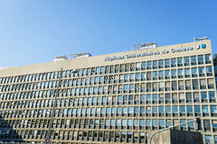 Hôpital d'université de Genève Image stock