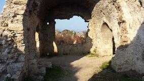 Hôpital de Byzantin Image libre de droits