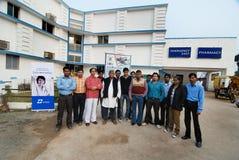 Hôpital de Glocal dans le Bengale-Occidental Photos stock