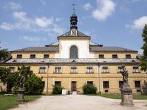 Hôpital de Kuks - point de repère baroque célèbre, République Tchèque Images libres de droits