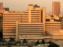 Hôpital de Milad par l'université de Téhéran des sciences médicales Images stock