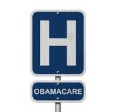 Hôpital et Obamacare photos libres de droits