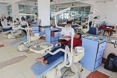Hôpital indien photo stock