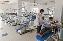 Hôpital indien Photographie stock libre de droits