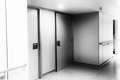 Hôpital intérieur de couloir Image stock