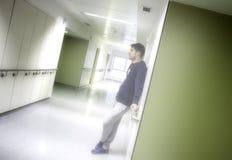 Hôpital intérieur de couloir Photographie stock libre de droits