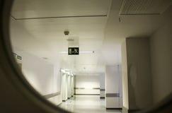 Hôpital intérieur de couloir Photographie stock