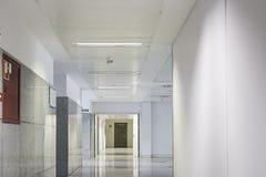 Hôpital intérieur de couloir Photo libre de droits