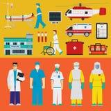 Hôpital - médecins Photographie stock libre de droits
