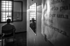 Hôpital psychiatrique criminel Image libre de droits