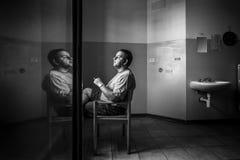 Hôpital psychiatrique criminel Photographie stock libre de droits