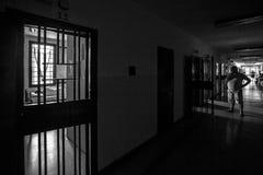 Hôpital psychiatrique criminel Image stock