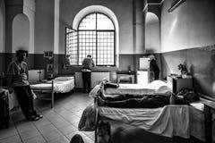 Hôpital psychiatrique criminel Photo libre de droits