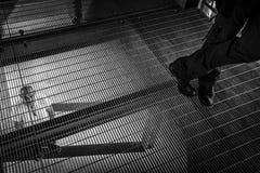 Hôpital psychiatrique criminel Images stock