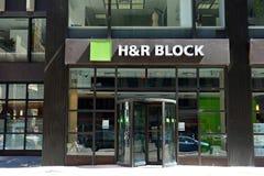 H&R Block Стоковые Фото