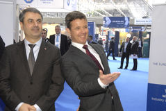 H.R.CROWN PRINCE FREDERIK_EWEA OFFSHORE 2015 Stock Images